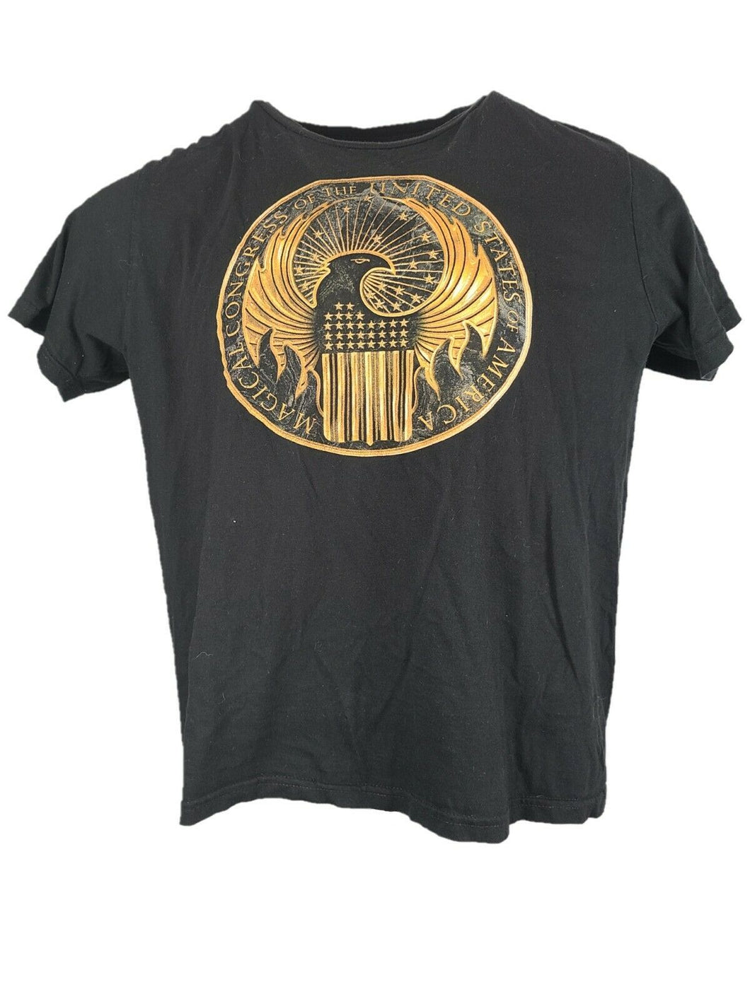 American Congress Of United States Front Graphic T Shirt Size XL Color Black