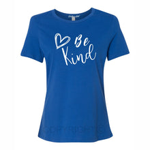 Be Kind Women's Short Sleeve T Shirt Casual And Cute Inspirational Graphics