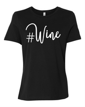 # Wine Women's Short Sleeve T Shirt Casual And Cute Inspirational Graphics