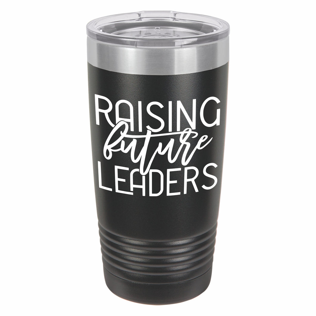 Raising Future Leaders Novelty Stainless Steel Coffee Tumbler 20oz, Double Walled Vacuum Insulated Tumbler with Splash Proof Lid Gift For Men & Women - E HUB PRODUCTS