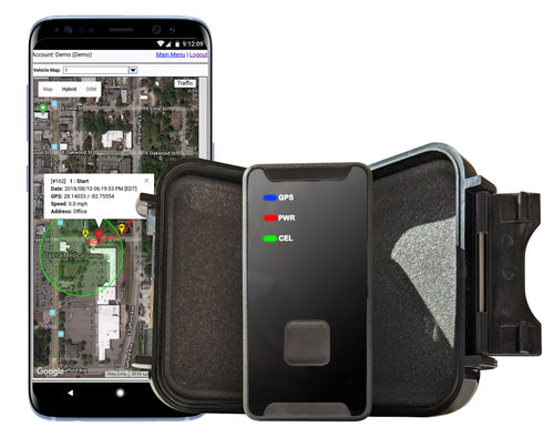 GPS Tracker Portable, 4G LTE Coverage, Real Time Location, SOS Functionality + You get A Free Magnetic GPS Tracker Case A $29.99 Value