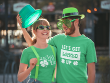Saint Patrick's Day T Shirt Lucky and Lit Funny Novelty Great Gift Unisex