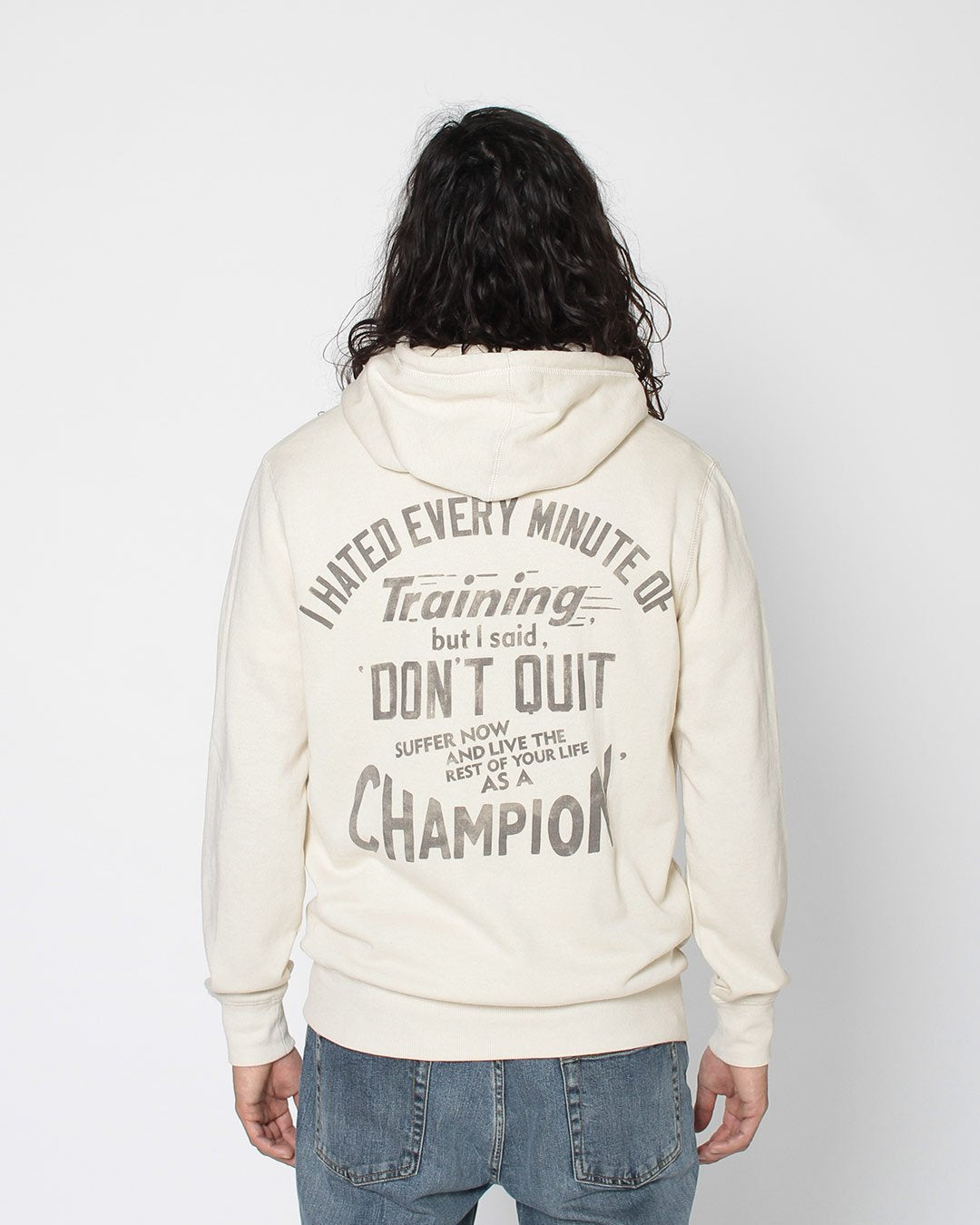 Ali 'Live as a Champ' Pullover Hoody