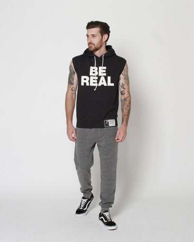 Tyson 'Be Real' Sleeveless Hoody