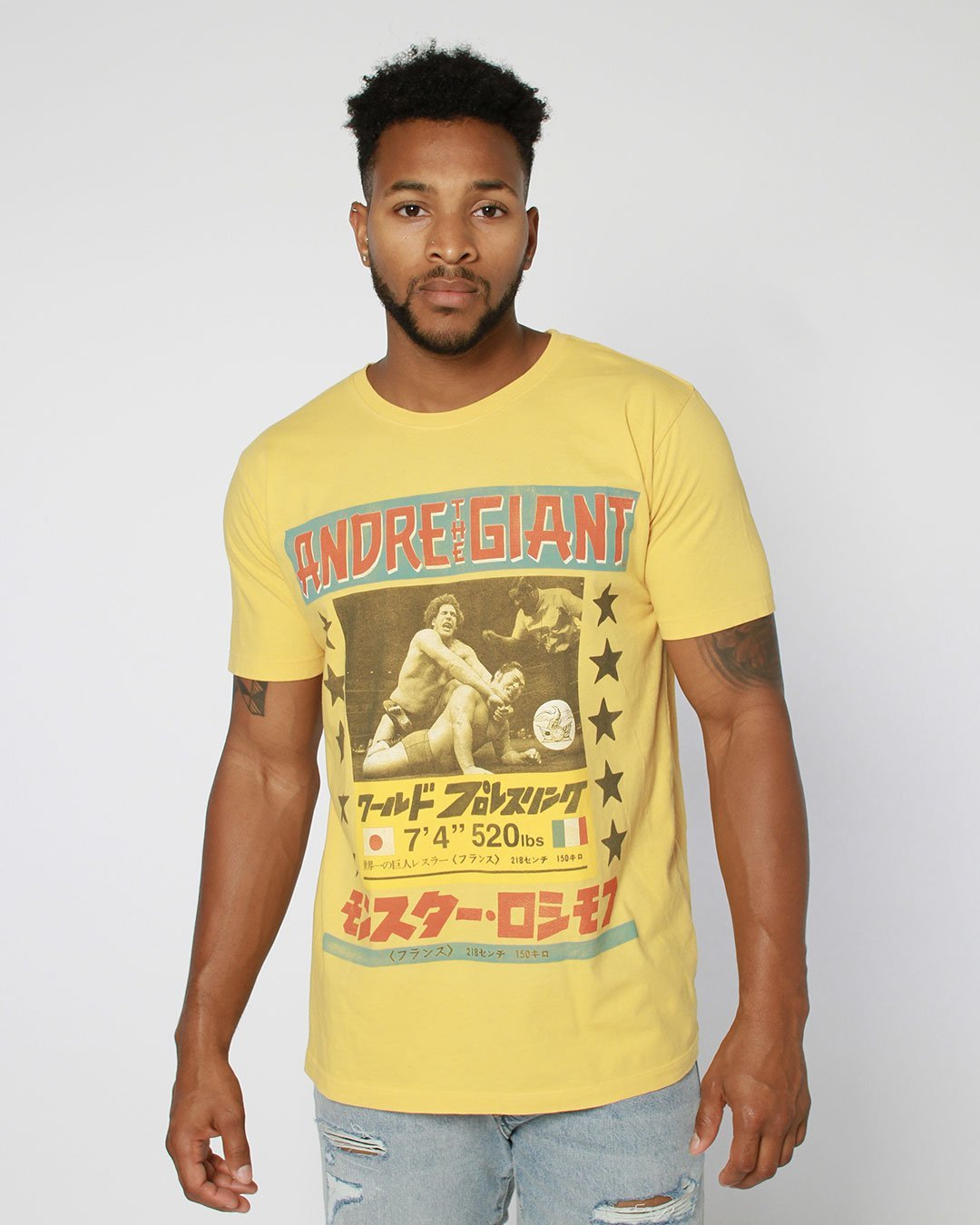 Andre the Giant Photo Tee