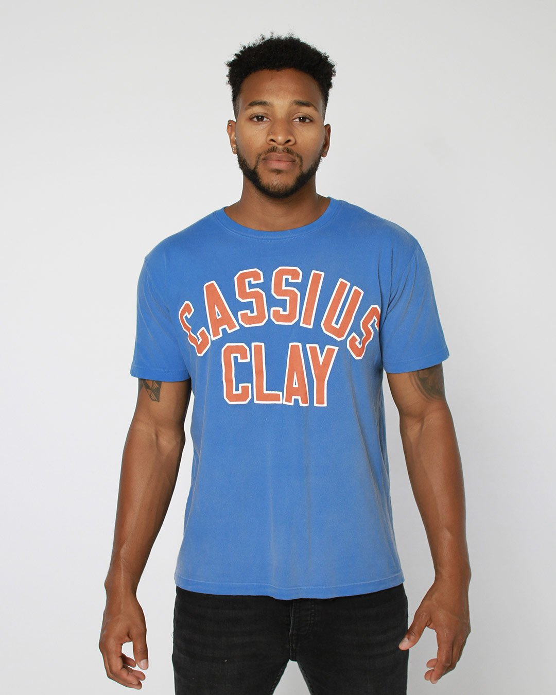 Cassius Clay Boxing USA Tee