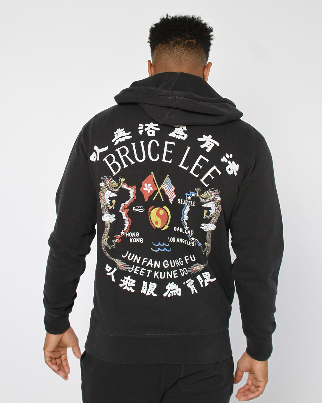 Bruce Lee JFGF Dragon FZ Hoody