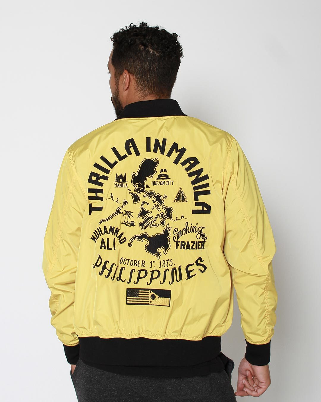 Thrilla in Manila Philippines Stadium Jacket Bundle