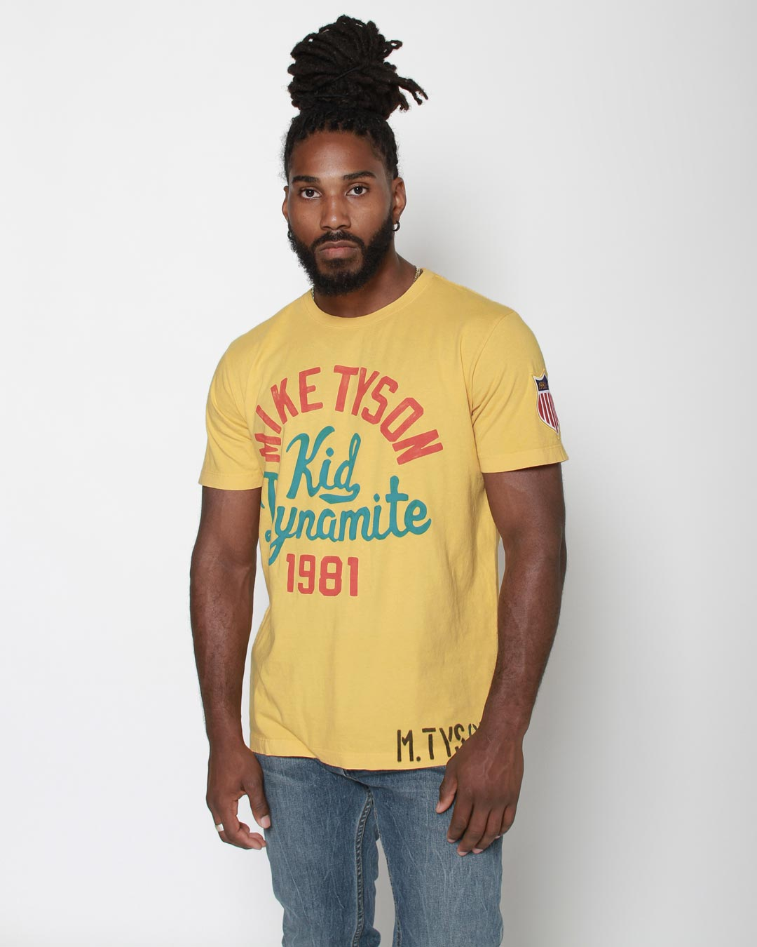 Tyson - Kid Dynamite Yellow Tee