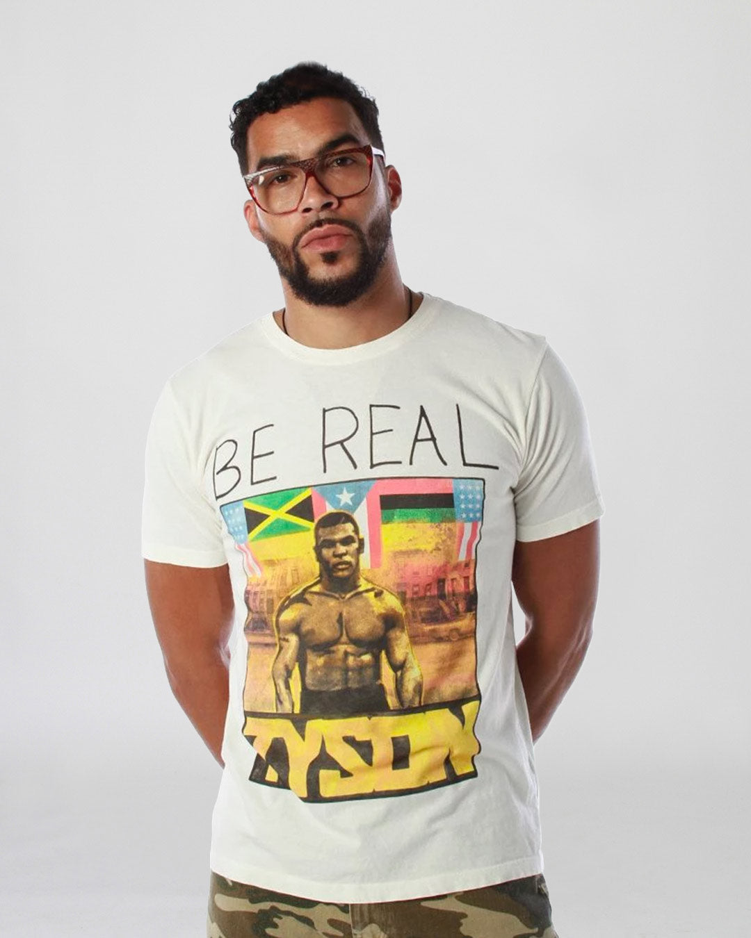 Tyson 'Be Real' Portrait Tee
