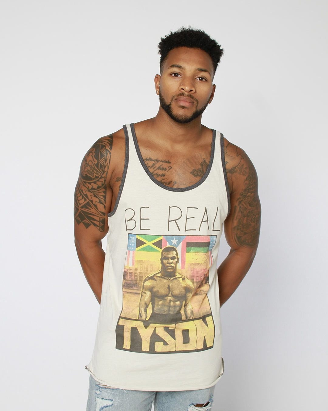 Tyson 'Be Real' Portrait Tank