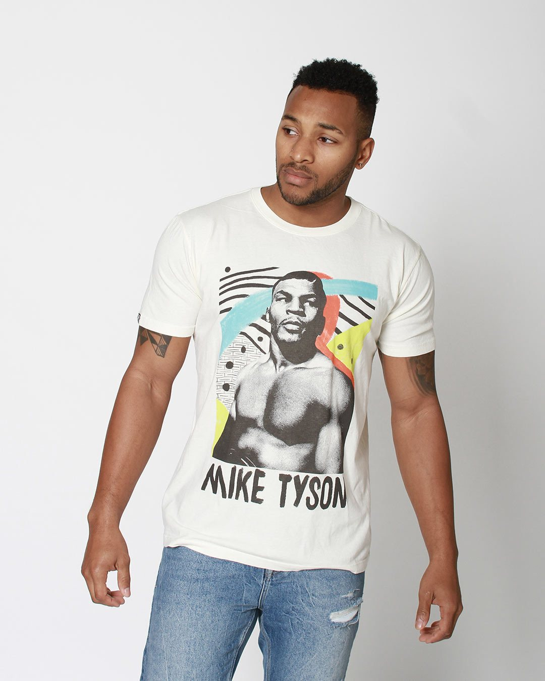 Mike Tyson Painted Portrait Tee