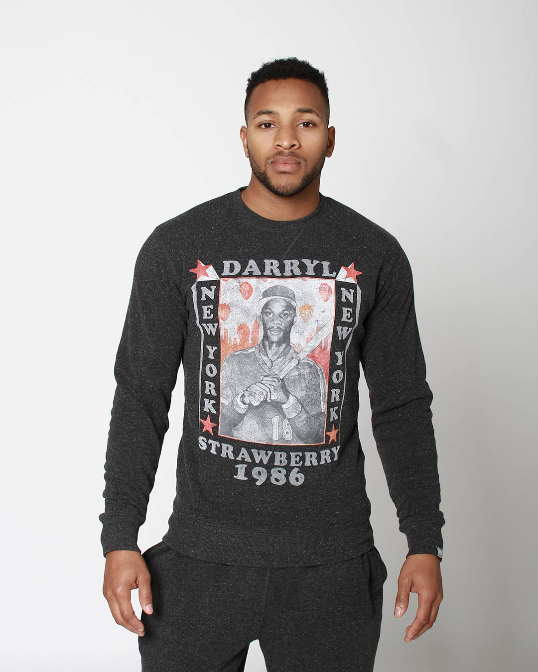 Darryl Strawberry NY 1986 Sweatshirt