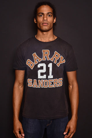 Barry Sanders #21 Collegiate Tee
