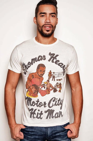 Thomas Hearns 'Motor City Hit Man' Tee