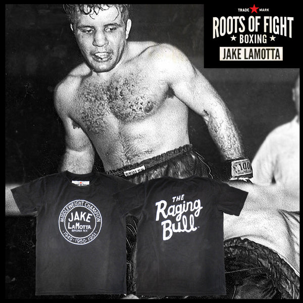 Jake LaMotta 'The Raging Bull' Tee