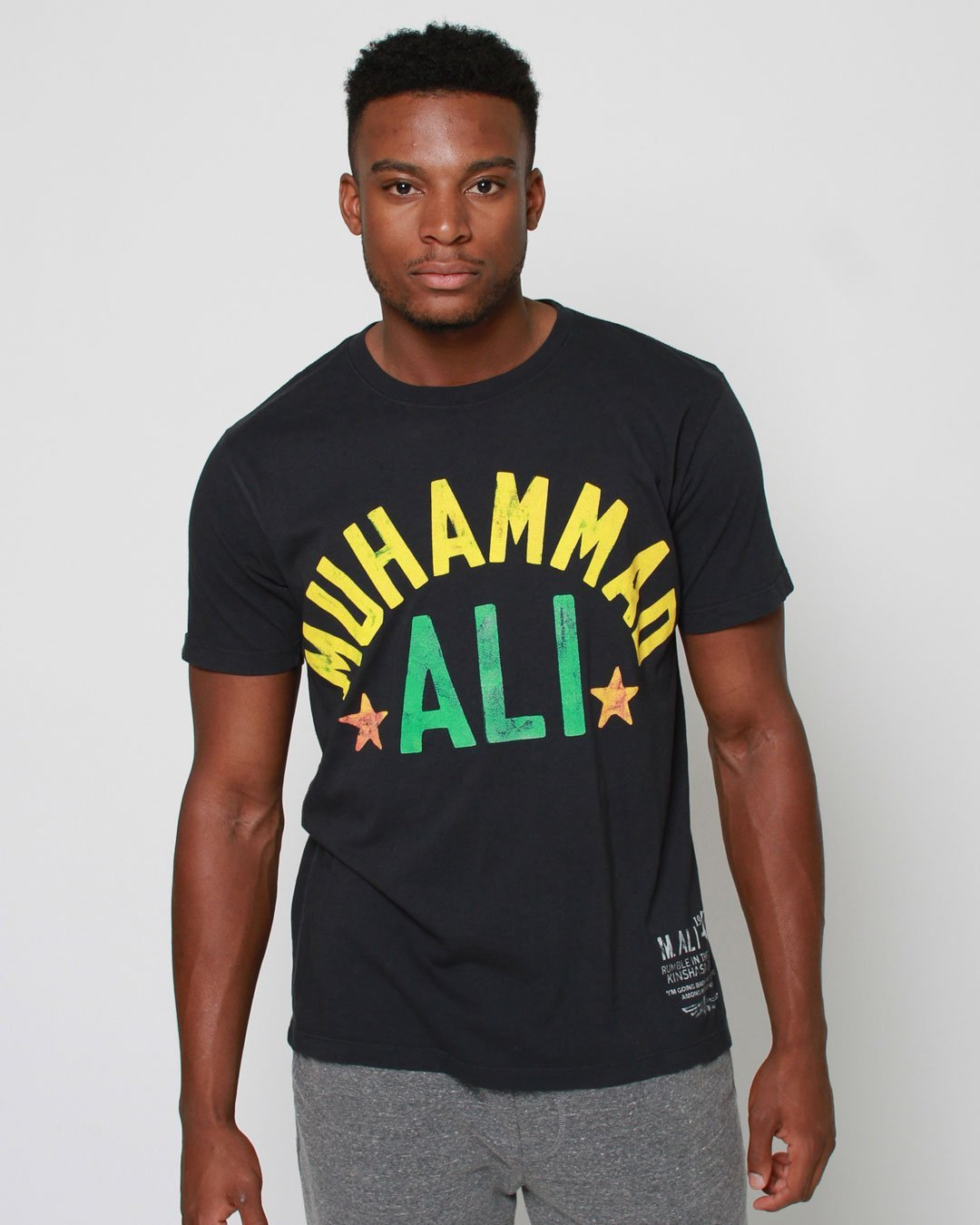 Ali Rumble Zaire 1974 Tee - Copasetic Clothing Ltd. dba Roots of Fight