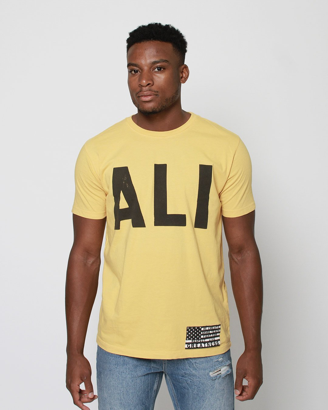 Ali 'The Champ is Back' Tee - Roots of Inc dba Roots of Fight