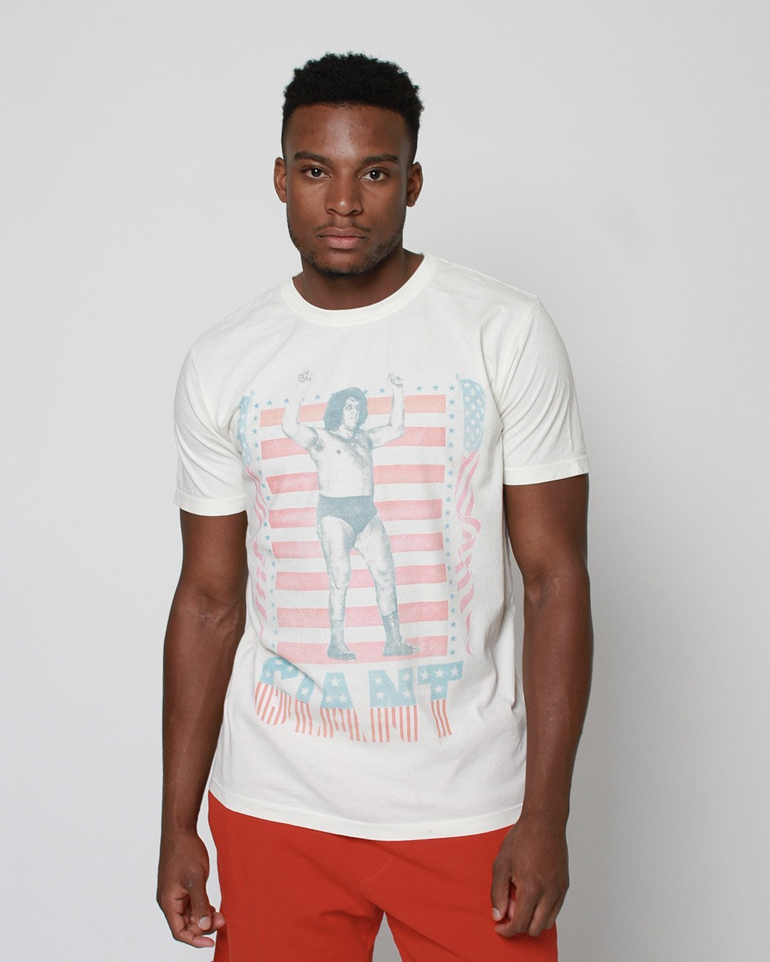 Andre the Giant Americana Tee - Copasetic Clothing Ltd. dba Roots of Fight