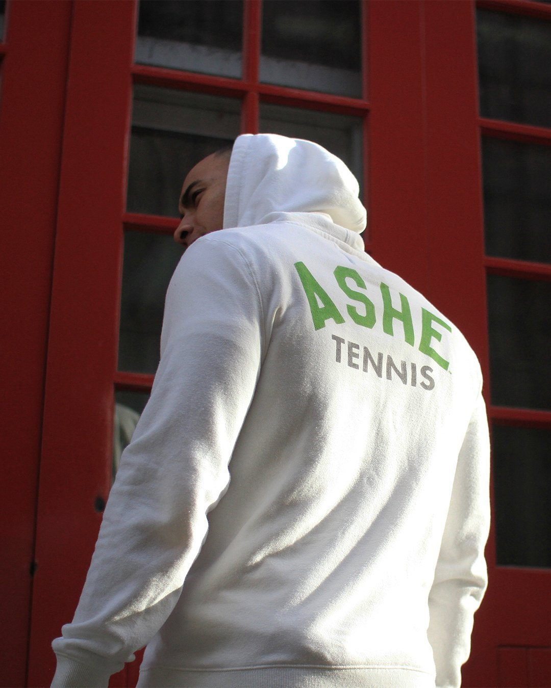 Arthur Ashe Ground Breakers Pullover Hoody - Copasetic Clothing Ltd. dba Roots of Fight