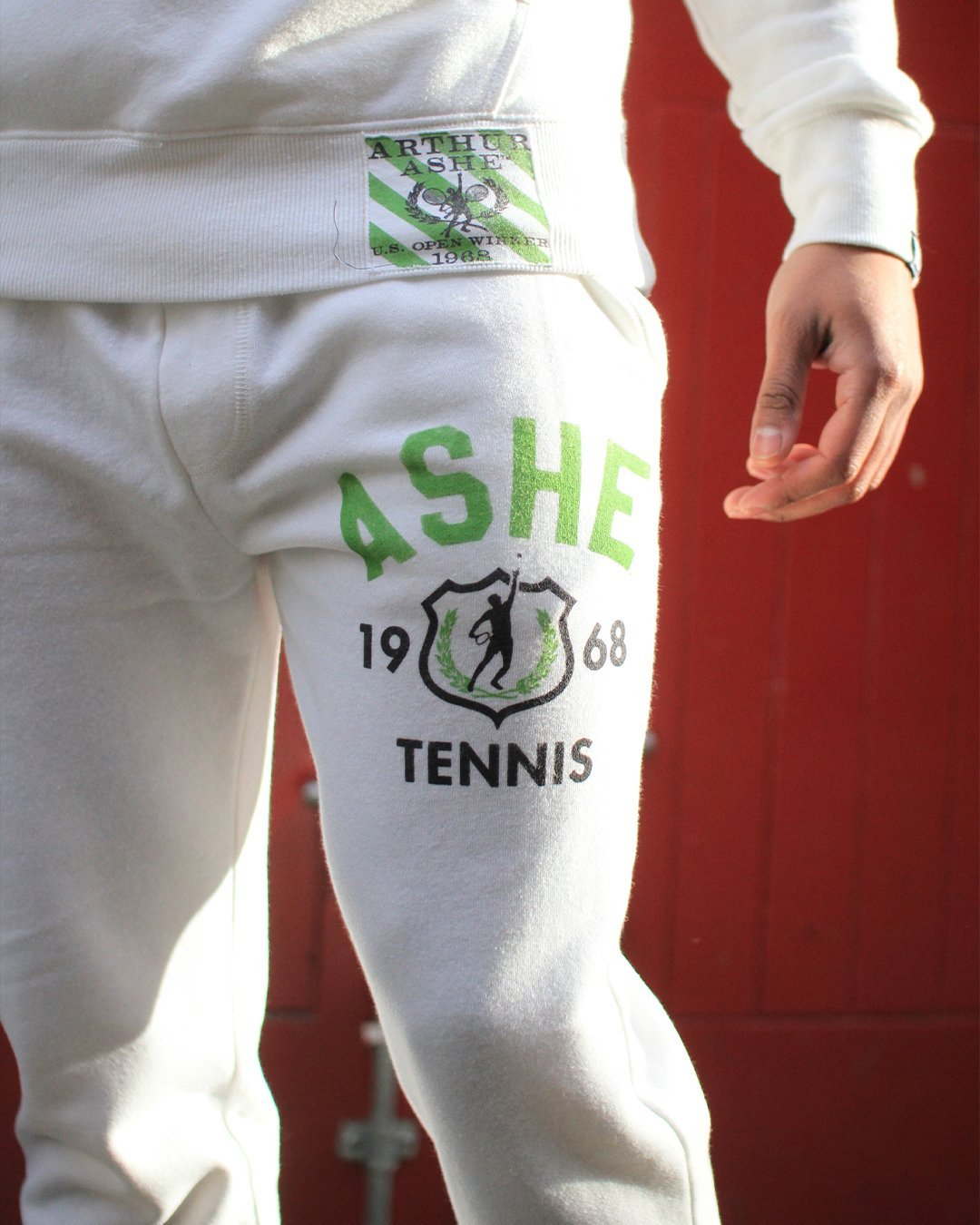 Arthur Ashe Ground Breakers Sweatpants - Copasetic Clothing Ltd. dba Roots of Fight