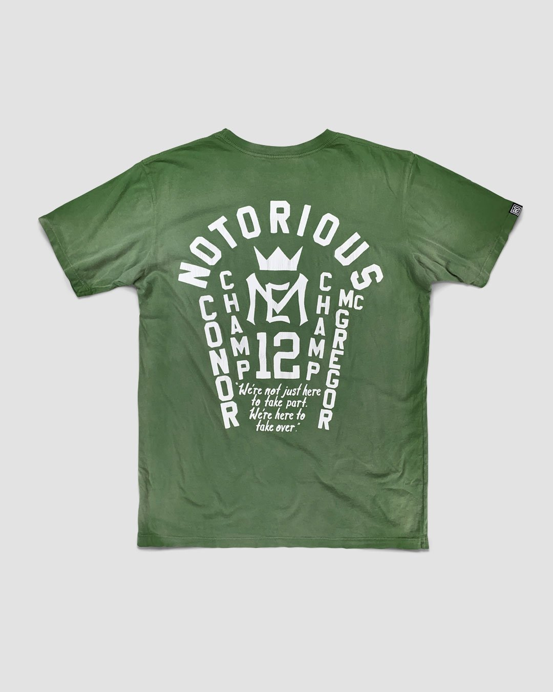 Conor McGregor Notorious Tee - Copasetic Clothing Ltd. dba Roots of Fight