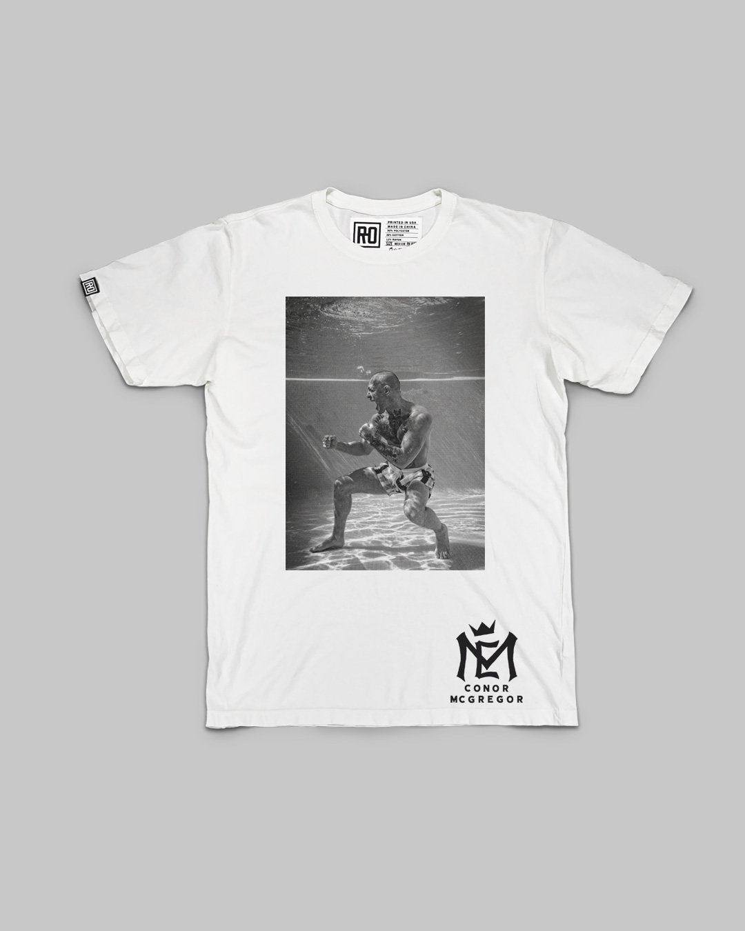 Conor McGregor Underwater Champ Champ Tee - Copasetic Clothing Ltd. dba Roots of Fight