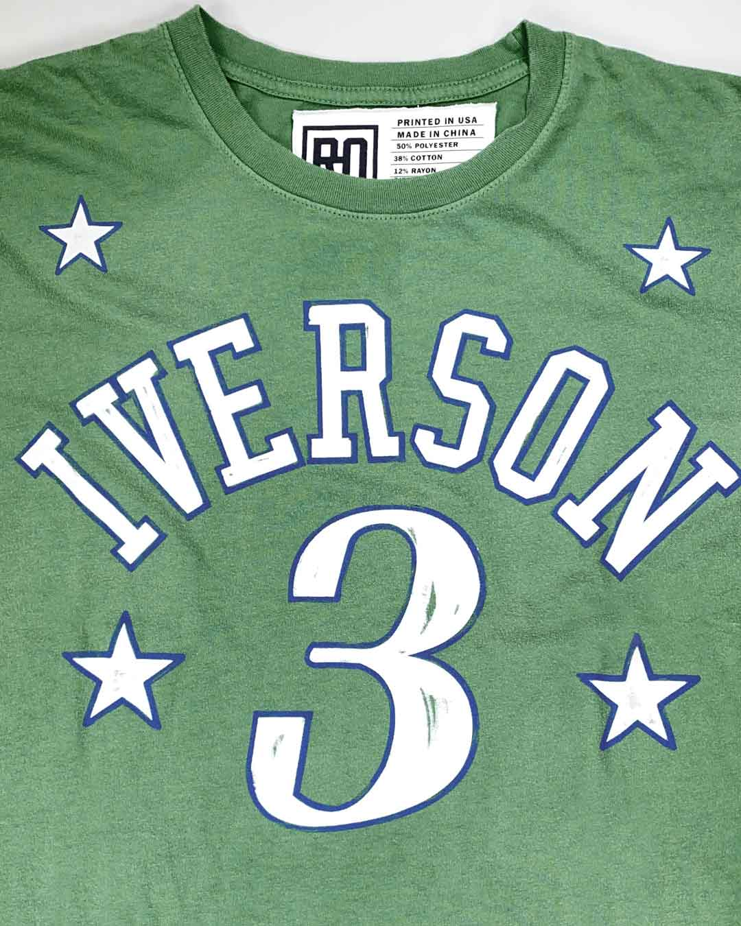 Iverson #3 Memento Tee - Roots of Inc dba Roots of Fight