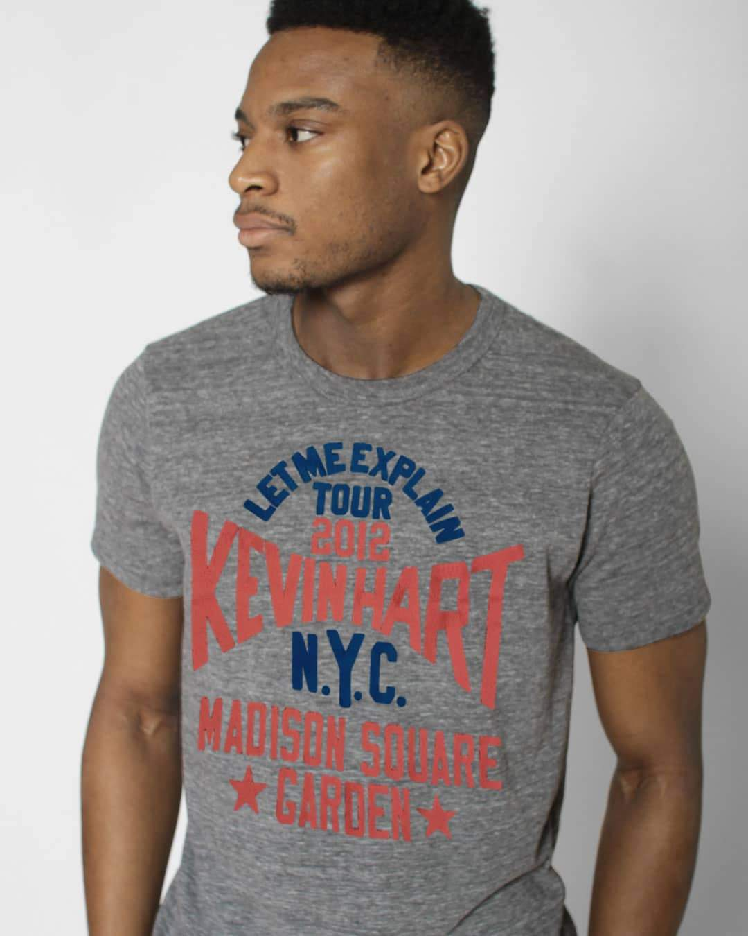 "Kevin Hart ""Let Me Explain"" MSG Grey Tee - Roots of Inc dba Roots of Fight"