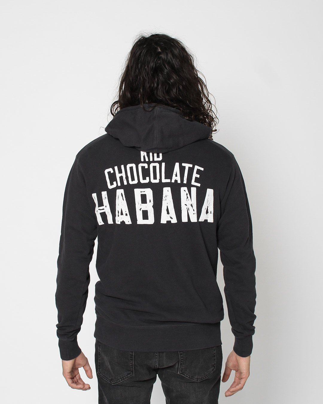 Kid Chocolate Habana Pullover Hoody - Copasetic Clothing Ltd. dba Roots of Fight