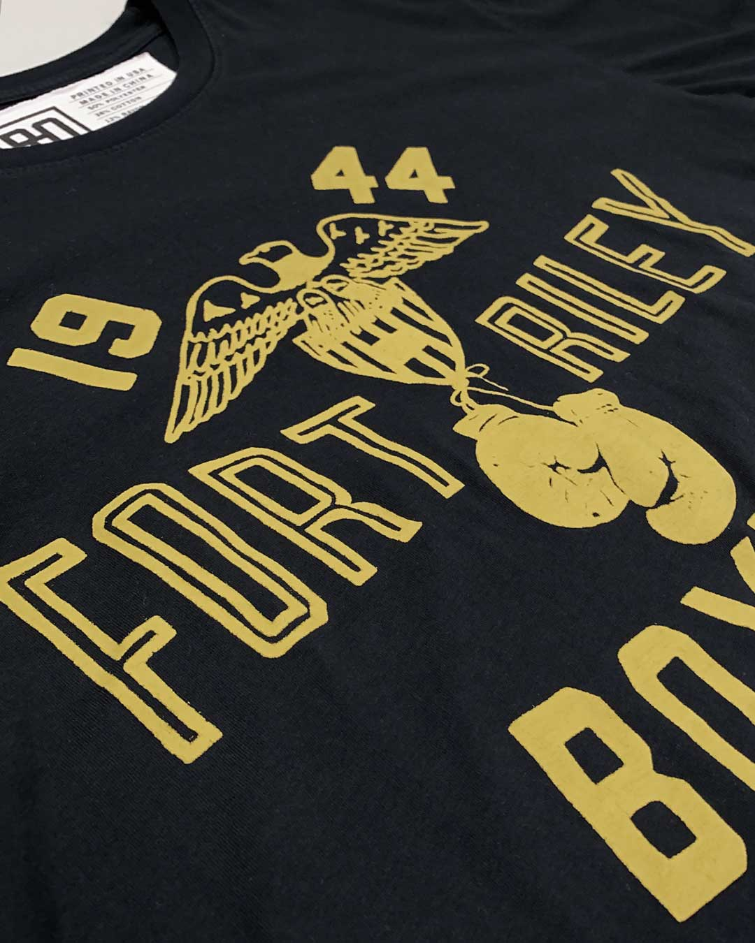 Sugar Ray Robinson Fort Riley Tee - Roots of Inc dba Roots of Fight