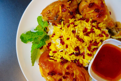 Polo Ba Morgh (Aromatic Chicken and Rice)