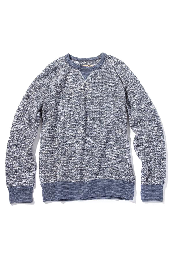 Russell Crew Sweater - Blue