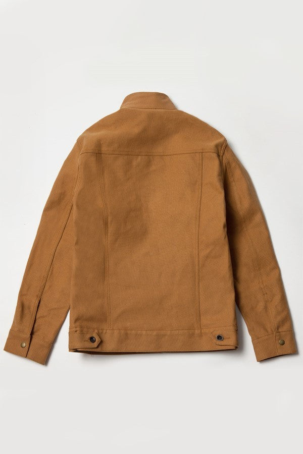 Cooper Jacket - Brown Canvas