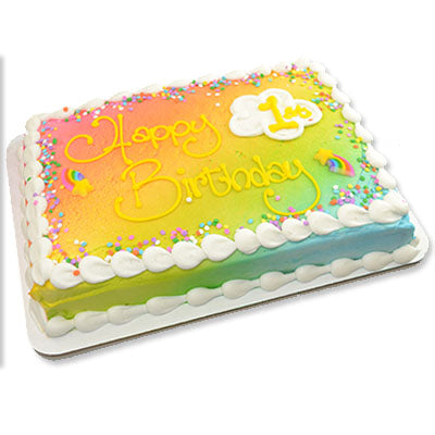 Rainbow Birthday