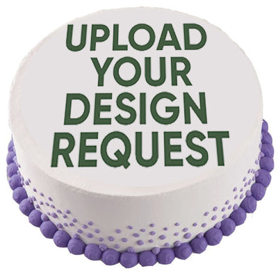 Customize a Round Cake