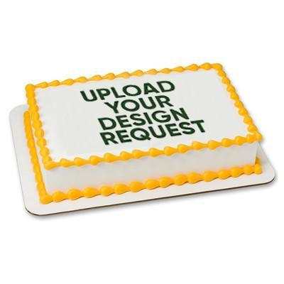Customize a Sheet Cake