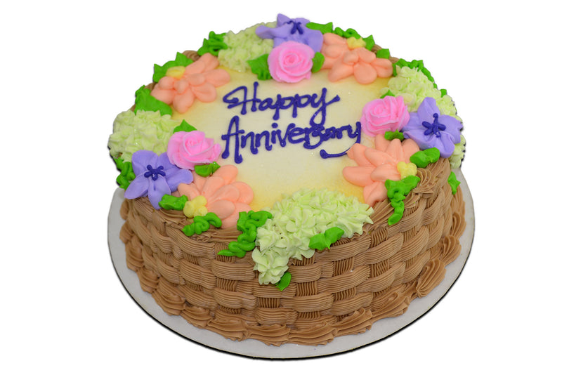 Flower Basket Anniversary