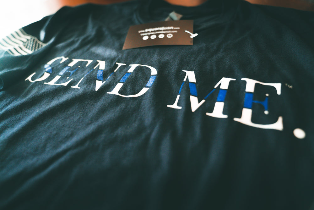 Send Me Thin Blue Line Tee