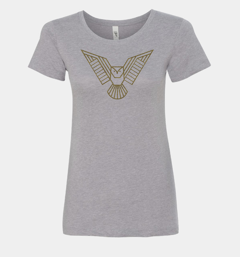 Send Me™ Athena Women's Tee - Heather Grey