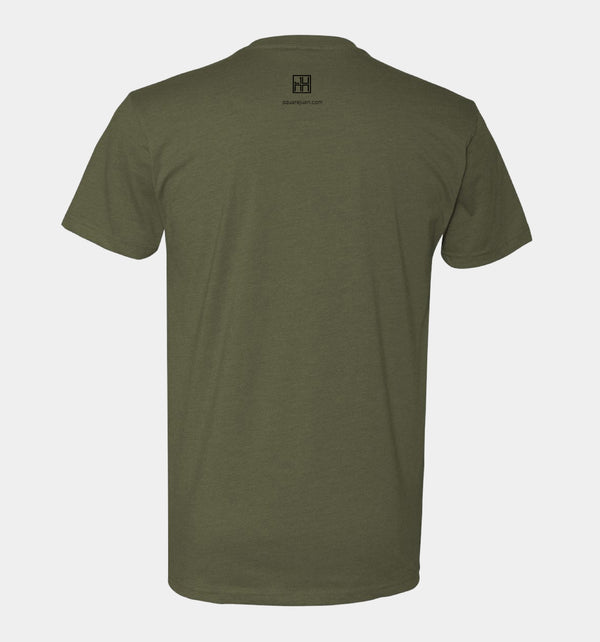 Kids' Send Me™ Thin Green Line Tee (Military Green)
