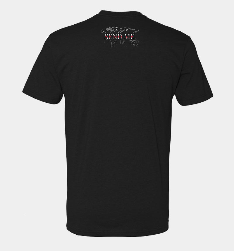 Send Me™ Thin Red Line Tee