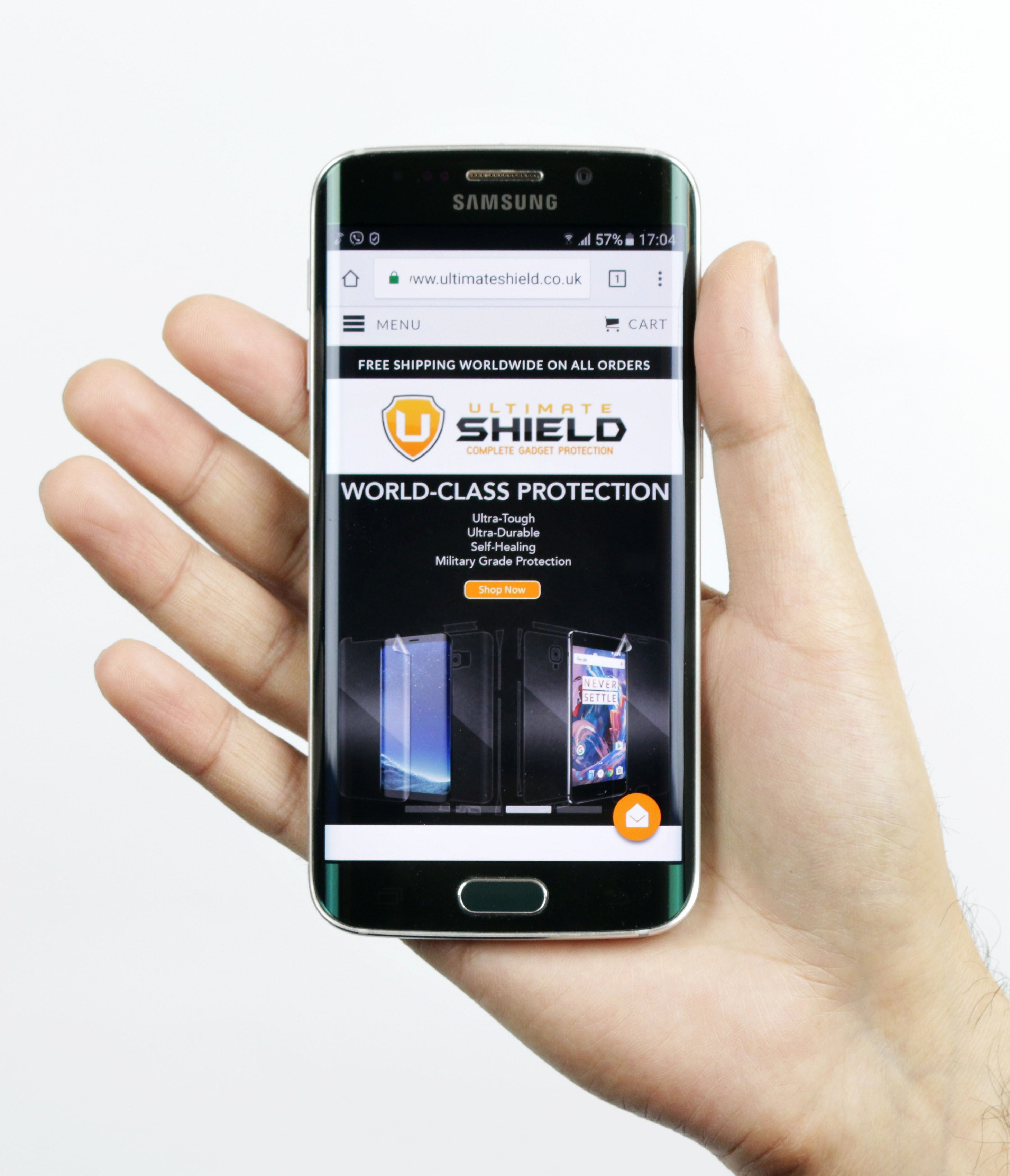 Ultimate Shield Gadget Ring Phone Ring Holder Kickstand Grip