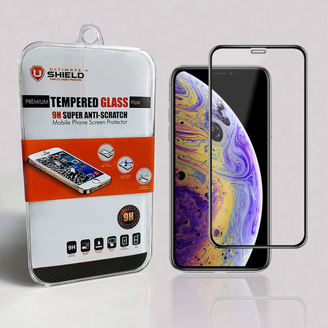 watch b96b2 71f50 Apple iPhone XS Tempered Glass Screen Protector