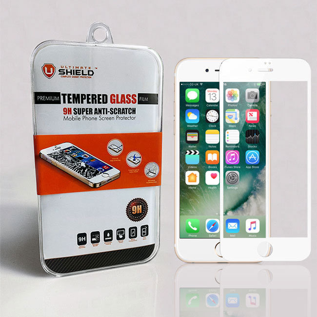 cheap for discount 90b9e 12d41 Apple iPhone 7/8 (White) Tempered Glass Screen Protector
