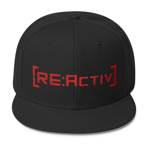 REACTIV Snapback Black