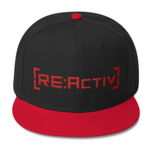 REACTIV Snapback Black Red