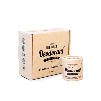 The Best Deodorant - 3 Month Supply