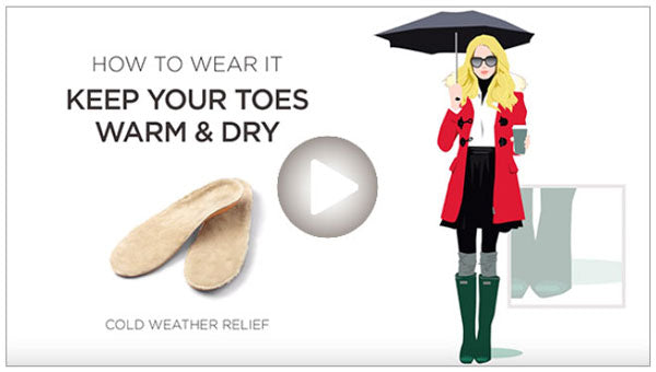 How to Wear Our Shearling Orthotic