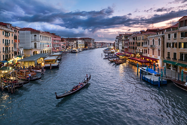 Grand Canal Rialto Bridge